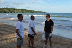 InterContinental Bali Resort joins effort of Beach Cleaning Program