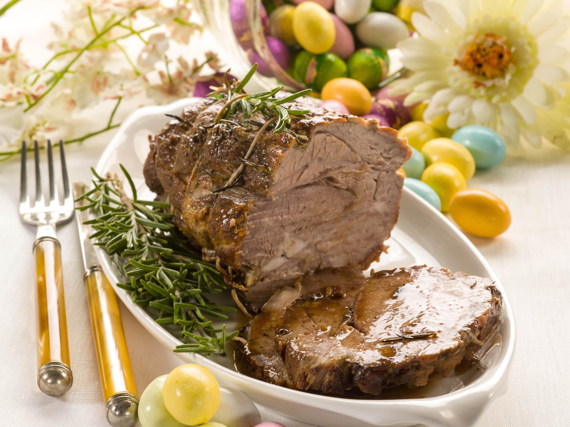 Easter celebration at intercontinental bali resort for Food for easter dinner