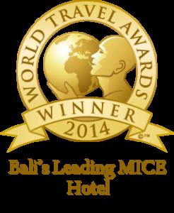 The Winner of World Travel Awards 2014 as Bali's Leading MICE Hotel