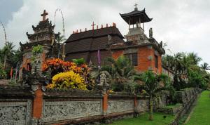 Bali church