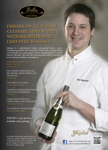 A Catalan Culinary Adventure with Michelin Star Chef Pere Massana at Bella Cucina