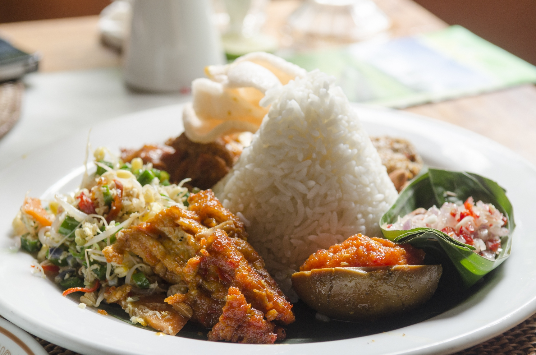 """Traditional Dishes """"Nasi Campur"""""""
