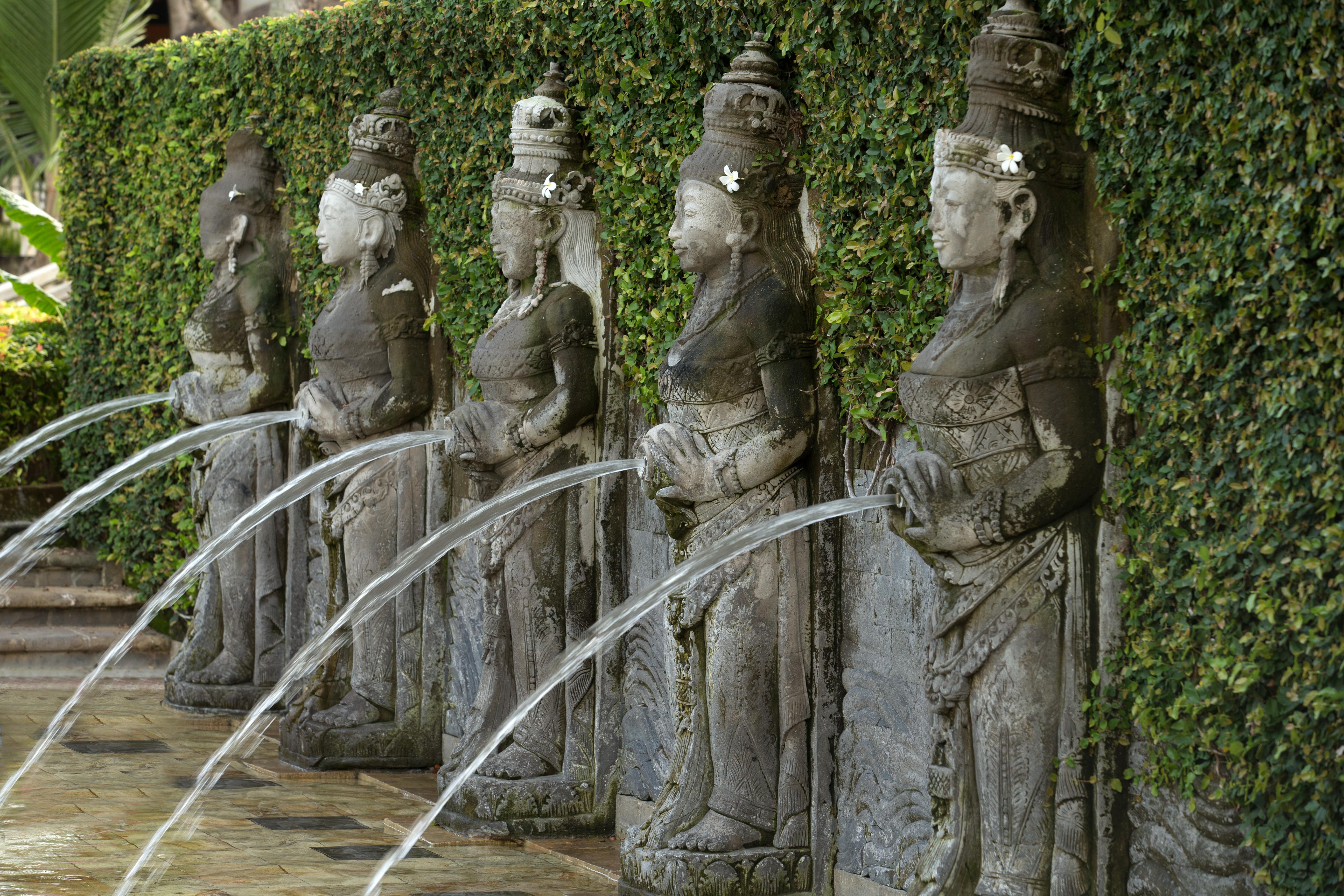 Resort Sculpture: Lima Dewi (The Five Goddess)