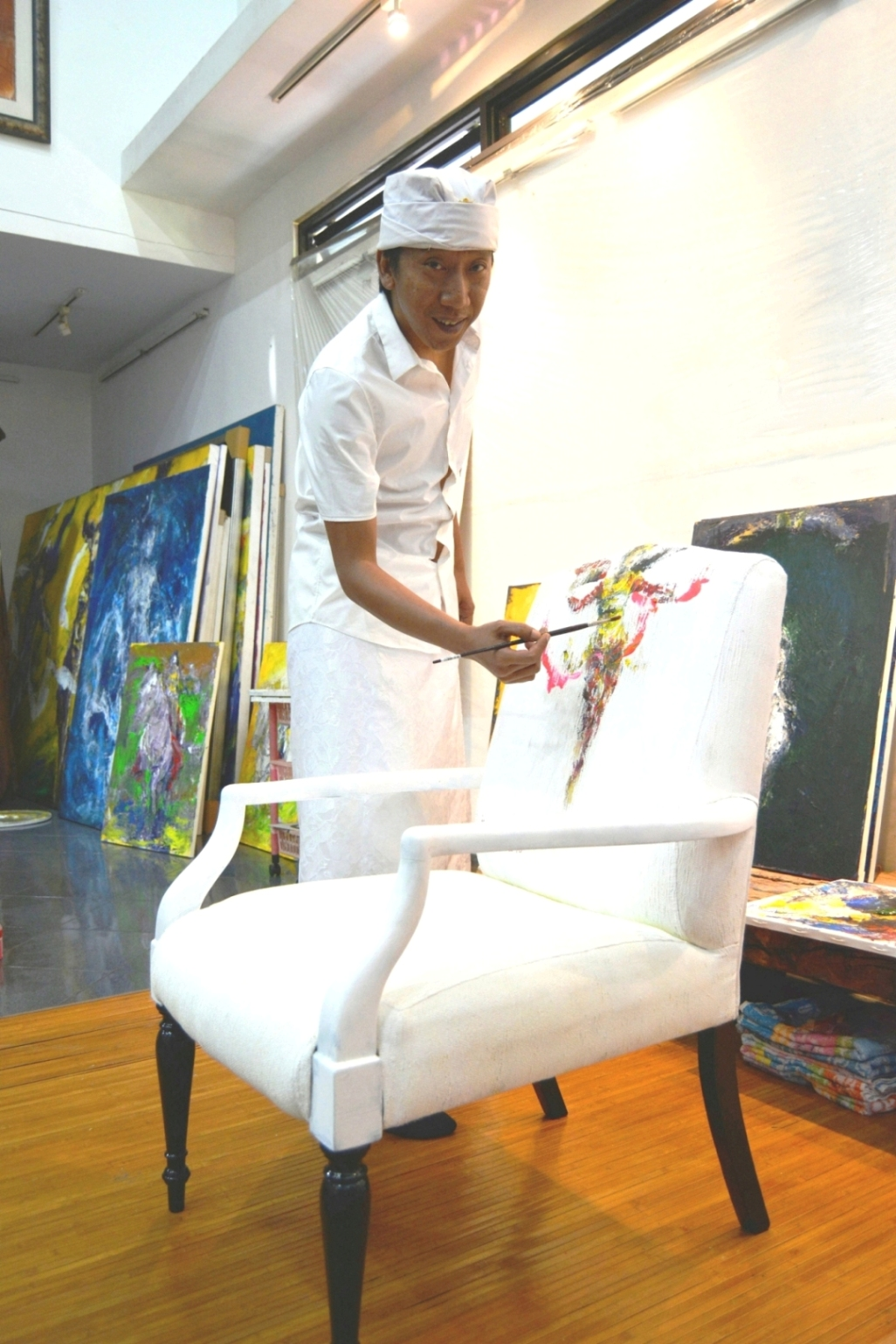 ART COMES TO THE CLUB AT INTERCONTINENTAL BALI RESORT