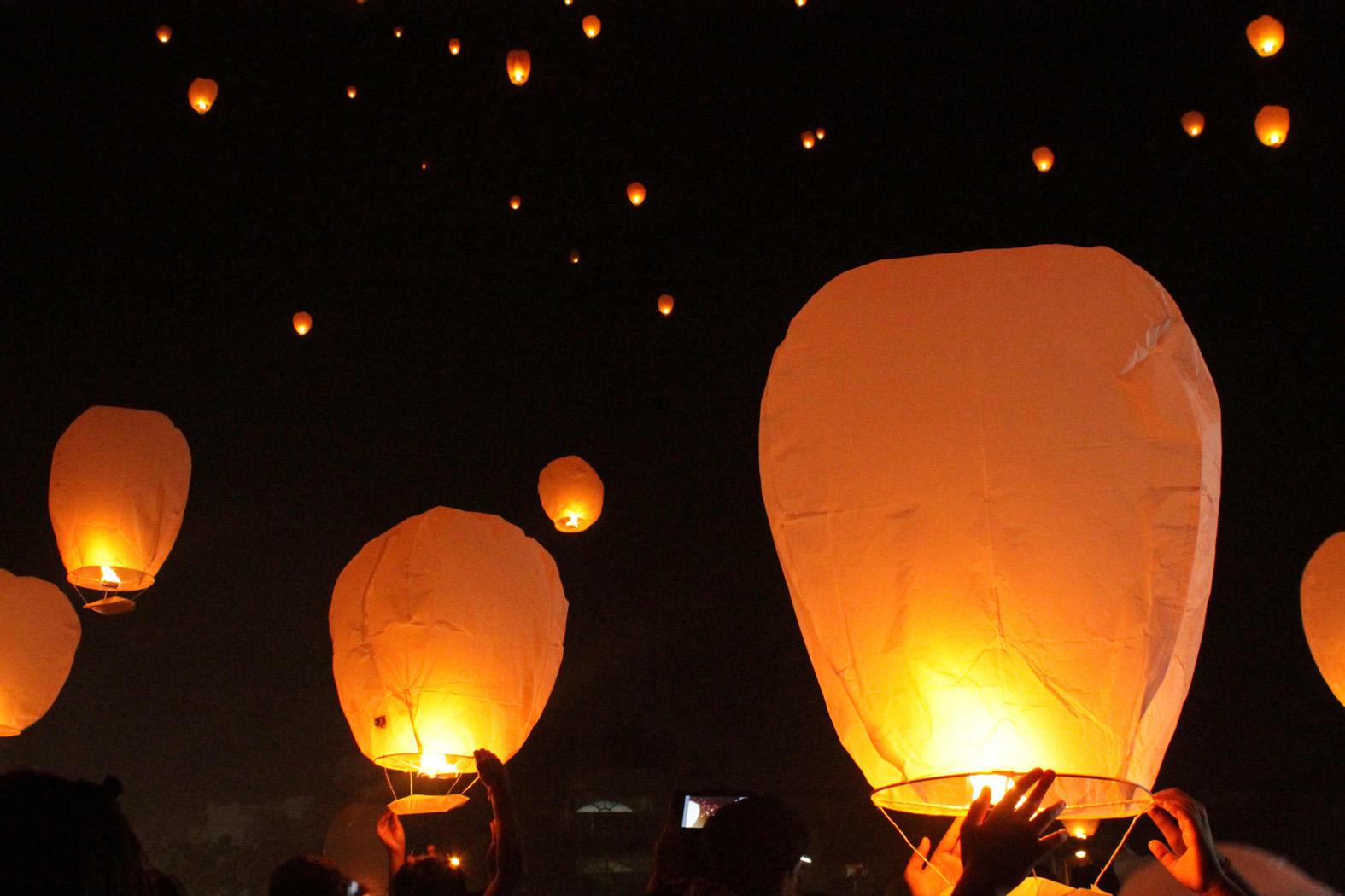 Flying Lantern at InterContinental Bali Resort