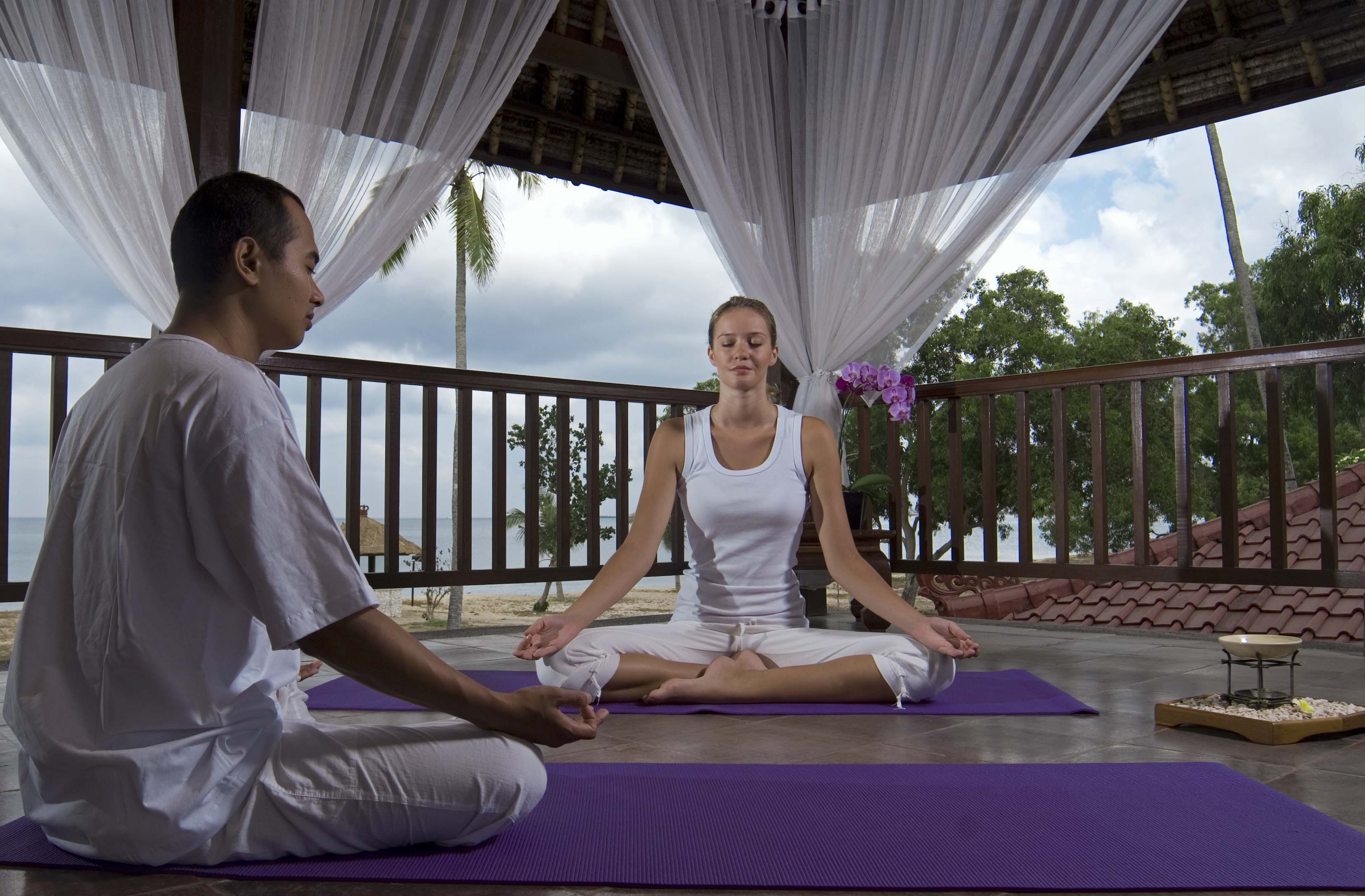 Meditation Yoga at InterContinental Bali Resort