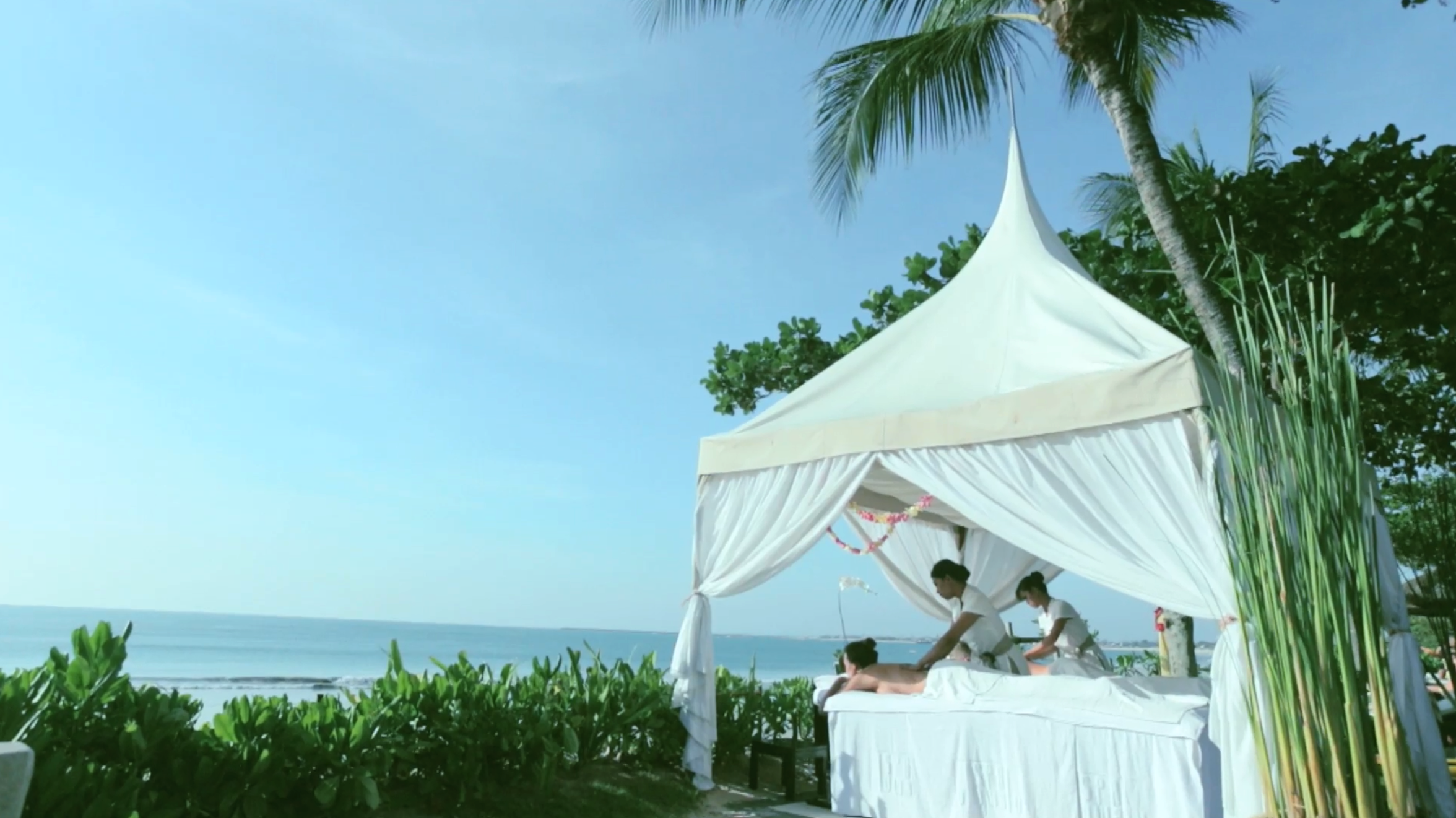 Spa By The Sea Romantic Nyepi Day InterContinental Bali Resort