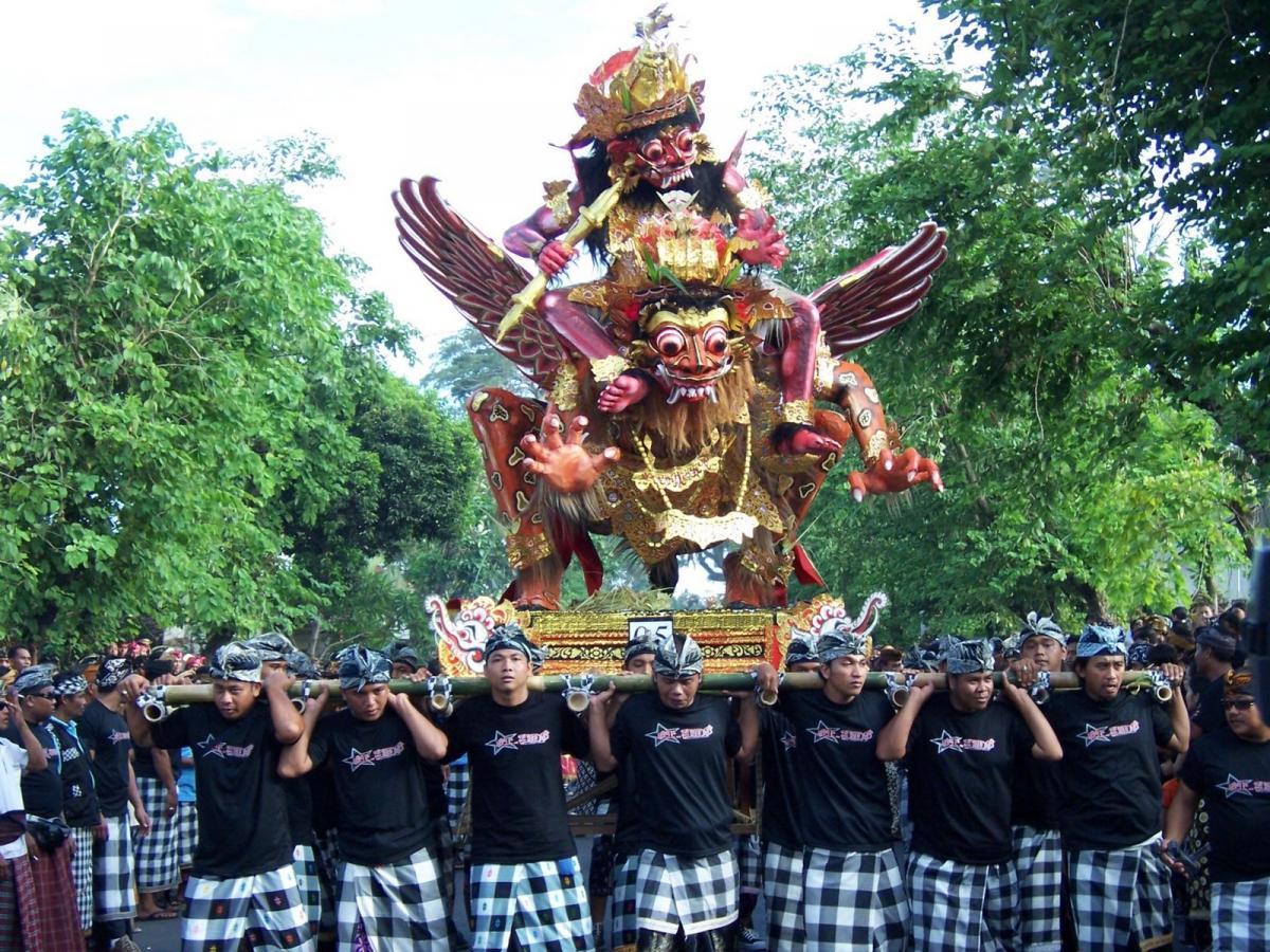 goho ogoh nyepi bali InterContinenta;l Bali Resort