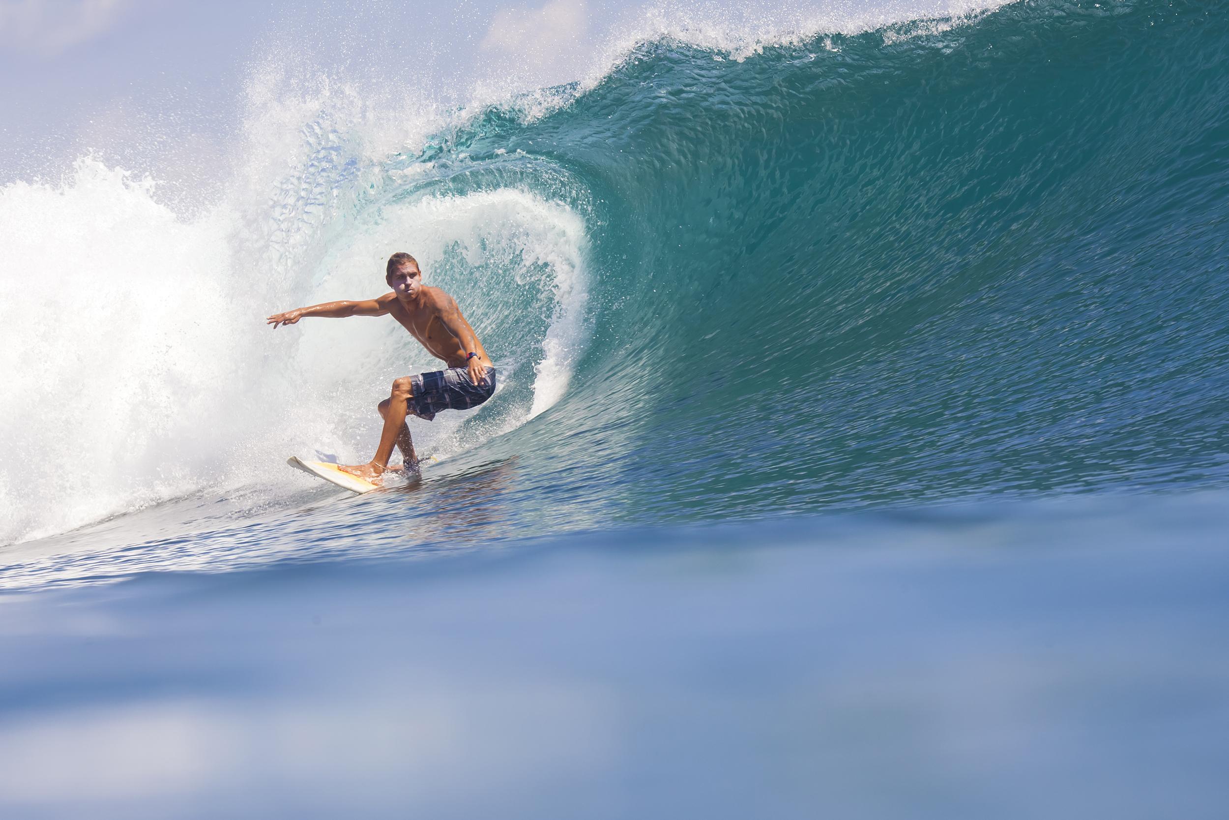 Surfing Bali InterContinental Bali Resort